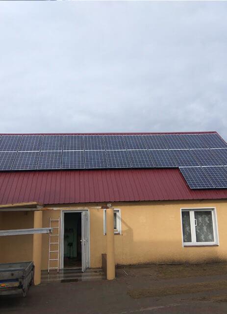 Фотоелектрична установка 7,7 кВт