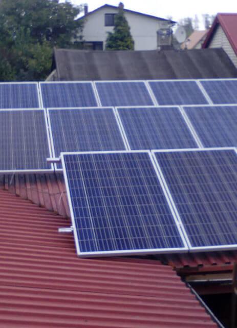 Фотоелектрична установка 4 кВт