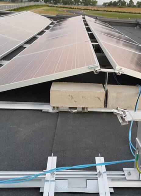 Гібридна фотоелектрична установка