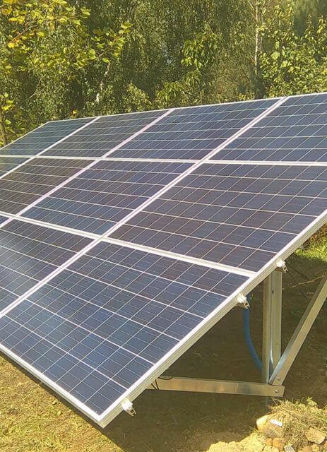 Наземна сонячна електростанція