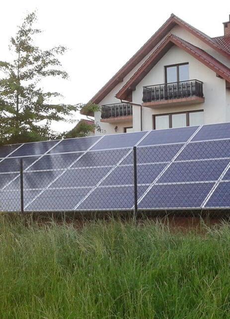 Наземна фотоелектрична установка, 7 кВт