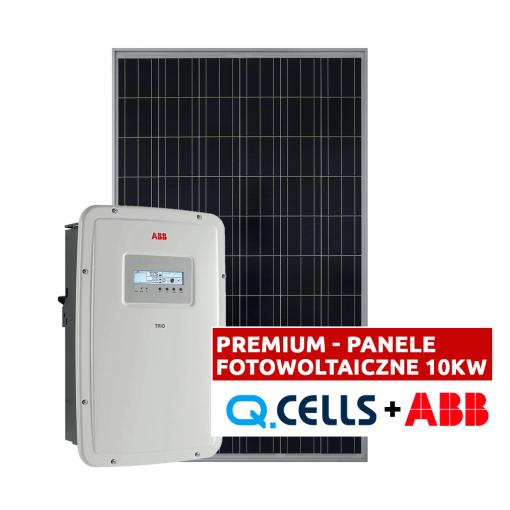 Panele fotowoltaiczne 10 kW - fotowoltaika kompletna instalacja