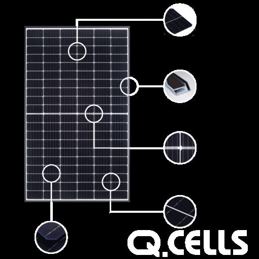 panele fotowoltaiczne Q.CEELS 3kw 4kw 5kw 6kw 8kw 10kw