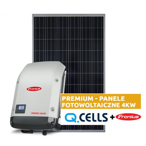 Panele fotowoltaiczne 4 kW - fotowoltaika kompletna instalacja