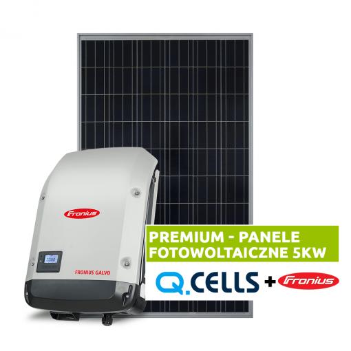 Panele fotowoltaiczne 5 kW - fotowoltaika kompletna instalacja