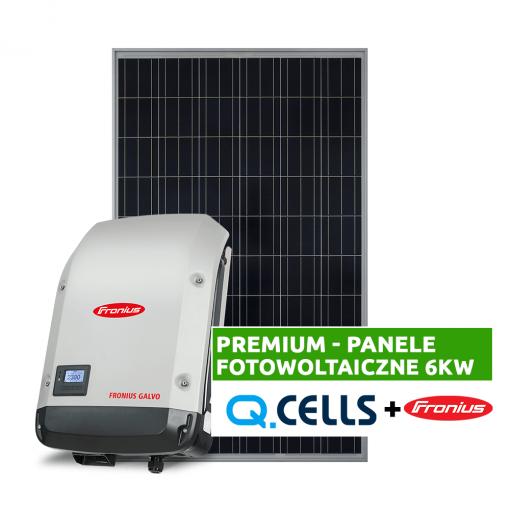 Panele fotowoltaiczne 6 kW - fotowoltaika kompletna instalacja